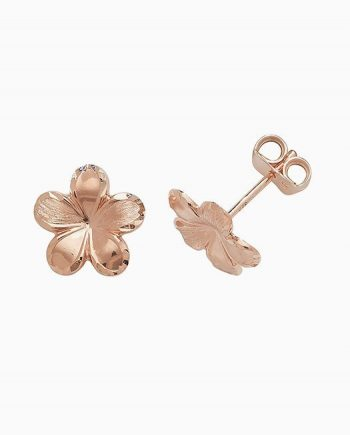 9ct Rose Gold Stud Earrings
