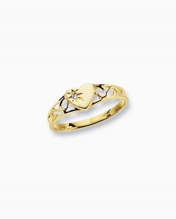 9ct Gold Children's Signet Ring