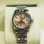 Preowned Ladies Rolex Oyster Perpetual Datejust Steel amp 18 carathellip