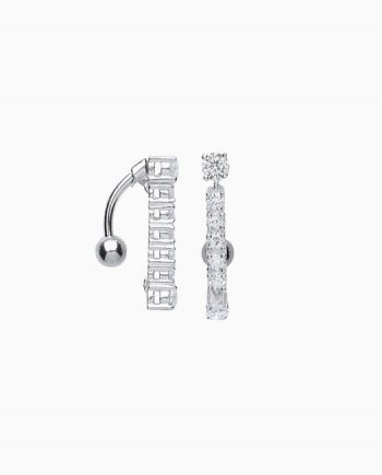 Surgical Steel CZ Body Jewellery