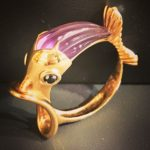 9 carat Gold ring in the shape of a fishhellip