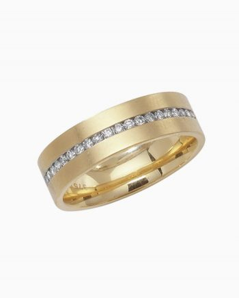 9ct Gold Diamond Wedding Half Eternity Ring