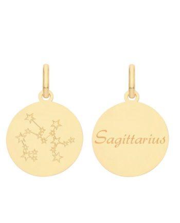 9ct Gold Constellation Sagittarius pendant
